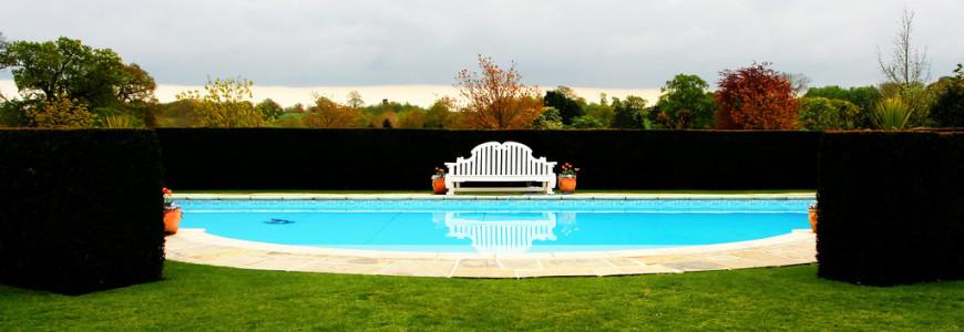 eingebettetes Schwimmbad