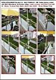 1 Stück - HOLLY UNIVERSELLE BALKON BEFESTIGUNG waagerechte - senkrechte Befestigung mit schwenkbarer 360 ° patentierter HÜLSE für STÖCKE von ...