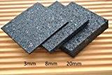 100 Stück 6mm Terrassenpad, Terrassenpads, Gummigranulat, Terrassenbau