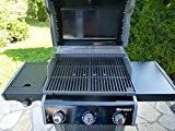 2-teiliger Gusseisen Grillrost (8,4 kg !) für WEBER SPIRIT E 310 320 + 2 Griffe Grill Guss A