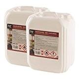 2 x 10 L Bio Ethanol Premium 100% für Kamin - versandkostenfrei - im handlichen 10 L Kanister