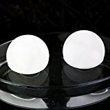 2er Set Wasserdichte LED-Schwimmleuchte Schwimmkugel LED Kugel Stimmungslicht für Badewanne Teiche 8 cm Weiß von PK Green