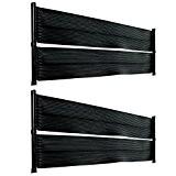 2x Solarmatte 600 x 70cm für Pool Solar Solarabsorber Solarheizung Poolheizung Doppelpack 49128