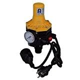 Agora-Tec Pumpen Druckschalter AT-DWv-3 mit Kabel zur Pumpensteuerung für Kreisel-, Tauch- Tiefbrunnenpumpen und Betriebsdruck von 7 bar, AT 003 001 ...