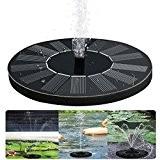 Aly Solar Springbrunnen Teichpumpe für Garten