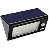Amir Solarleuchten Garten,Wireless Wetterfeste Sicherheits Licht/Solarleuchten mit Bewegungsmelder Aussen mit 40 LED für Garten, im Freien, Zaun, Terrasse, Haus, Auffahrt, ...