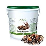 AniForte Garden Premium Eichhörnchenfutter 1 kg für Eichhörnchen und Streifenhörnchen- versch. Größen- Naturprodukt für Eichhörnchen