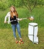 """Apfel-Sackhalter SACKI mit Erddorn - Bag Man - der perfekte Helfer für Ihren Apfel-Sammler """"Roll-Blitz"""" Made in Germany - Der ..."""