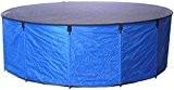 AquaForte Faltbecken Flexi Bowl Durchmesser 180 x H 60 , blau, inkl. Abdecknetz und praktischer Tasche