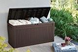 Auflagenbox / Kissenbox Koll Living 270 Liter l 100% Wasserdicht l mit Belüftung dadurch kein übler Geruch / Schimmel l ...