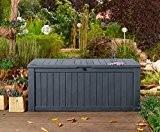 Auflagenbox / Kissenbox Koll Living 570 Liter l 100% Wasserdicht l mit Belüftung dadurch kein übler Geruch / Schimmel l ...
