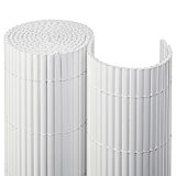 Balkonblende PVC Premium 0,90 x 3,00 m / weiß