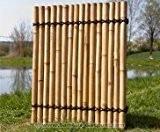 """Bambus Sichtschutzzaun """"Apas4"""" gelblich, 150 x 120cm"""