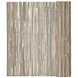 Bambusmatte Bambus Sichtschutzmatte Sichtschutz Gartenmatte 150 x 400 cm