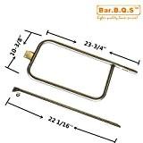 Bar. b.q.s b65032(1P-Type Brenner mit 1gerade Rohr Rohr) Ersatzteile Gas Grill Brenner für 404341, 57060001, 586002, q-3200, Q300, Q320Gas Modelle