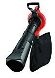 Black + Decker 3.000 Watt 3-in-1 Elektro-Laubsauger, Metall-Häckslerad, bis zu 418km/h Blasgeschwindigkeit,GW3030