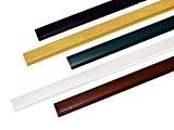 BOOGARDI Abdeckprofil für PVC - Sichtschutzmatte 200cm lang | verschiedene Farben | Anthrazit