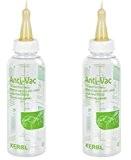 Cajou 2 Stück Anti-Vac Lämmerflasche Tränkeflasche Trinkflasche Aufzuchtflasche für Lämmer Lämmchen