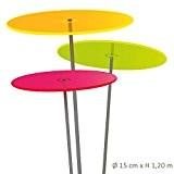 Cazador-del-sol ® medio | tres | 3 Stück Sonnenfänger bunt 1,20 Meter hoch - das Original