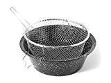 CERIANI Fryer Eisen / Porzellan Korb 30 Töpfe und Vorbereitung