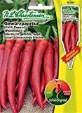 Chrestensen Gewürzpaprika / Peperoni 'Westlandia' Saatgut Samen