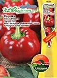 Chrestensen Paprika 'Torpedo Red' Saatgut Samen
