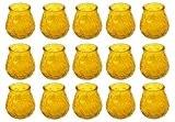 Citronella Kerzen im Glas Töpfchen 15 Stück