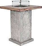 Clifton Gaskamin Table Stehtisch (Grau)