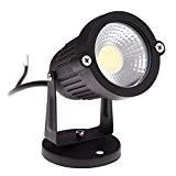COB 3W LED Rasen Licht - SODIAL(R) COB 3W 12V LED Rasen Licht wasserdichte LED-Scheinwerfer Garten Gartenleuchten Aussenstrahler (keine Requisiten, ...