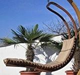 DESIGN Hängeliege 'NAVASSA-SEAT' aus Holz Lärche mit Auflage (OHNE Gestell) von AS-S