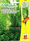 Deutsche Küche Saatscheiben Majoran Petersilie Dill Schnittlauch