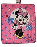 Disney Minnie Maus Picknickdecke für Kinder Decke 130x150cm