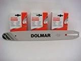 Dolmar 3 Ketten 1 Schiene Set 38cm für PS-5000, PS-5105, PS-4600S, PS-460, 115 099/38 cm