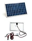ECO-WORTHY 10 Watt Solarmodule 12 Volt Off Grid Bausatz W/ 3A Laderegler - Photovoltaik Solarpanel zum Aufladen von 12V Batterien