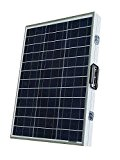 ECO-WORTHY 100W Solarpanel Komplett Set - 12 Volt Solar-Ladegerät - Faltbar Solarmodul 100W - Polykristallin Solarzellen 12V für Camping Wohnwagen ...
