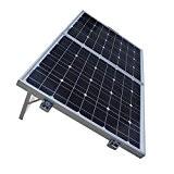 ECO-WORTHY Solarmodul 80W Monokristallin Komplett Set Faltbar für Camping Wohnwagen 12V Batterie