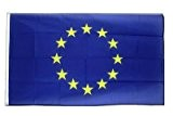 Europäische Union EU Flagge, europäische Fahne 90 x 150 cm, MaxFlags®
