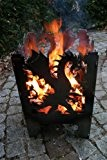 Feuersäule / Feuerkorb DRACHE Gr. XXL aus Stahl - von SvenskaV