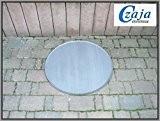 Feuerschalen Unterlegplatte Ø 80 cm