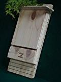 Fledermauskasten, Fledermaushaus Wandbatbox Gegen Mücken Blitzen Original made in Italy 100%