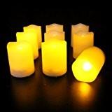 Frostfire Mooncandles - neun Kerzen für innen und aussen mit Timer und Fernbedienung