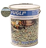 FUGLI FESTE PFLASTERFUGE 12,5 kg FARBE: Steingrau/Sand RESTPOSTEN