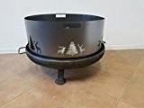 Funkenschutz Wild (80 cm) Feuerschale