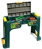 Gartenhocker mit abschließbarem Kleinteilefach und Schaumstoffeinlage in robuster Ausführung. Aus witterungsfesten Kunststoff. Maße: 58 x 22,5 x 38 cm
