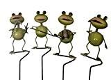 Gartenstecker Frösche • 4 verschiedene Motive zur A U S W A H L • je 52 cm hoch • ...