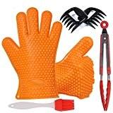 Hifine Barbecue Handschuhe, Pulled Fleisch separate Schweine Claws Set und Grill-Zubehör-Kit für Home Küchen Werkzeuge Grill