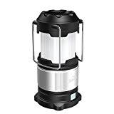 HiHiLL LED Campinglampe aufladbar Wasserdicht 360°Ausleuchtung mit USB Output, Zeltleuchte Notfallleuchte Aussenleuchte für Camping, Wandern, Notfall Outdoor [Energieklasse A+]