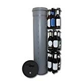 HopfenHöhle LIFT: Outdoor Erdloch Bierkühler mit integriertem halbautomatischem Hebesystem, Bar-Gadget, Bier-Geschenk