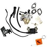 HURI Vergaser und Zündspule set für Honda GX120 GX140 GX160 GX200 Motoren