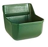 Kerbl 32460 Kraftfuttertrog-Fohlentrog ohne Metallstäbe, grün